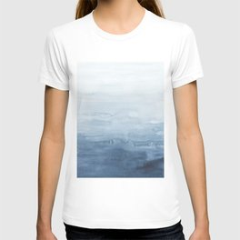 Indigo Abstract Painting | No. 5 T-shirt