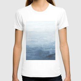 Indigo Abstract Painting   No. 4 T-shirt