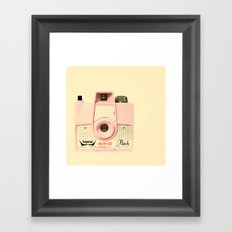 Think Pink Framed Art Print