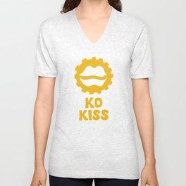 Ko Kiss (Kiss?) Unisex V-Neck