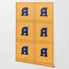 Alphabet Drop Caps Series- A Wallpaper