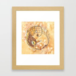 Aesop's Fables - The Lion and the Mouse Framed Art Print