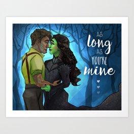 As Long As You're Mine Art Print
