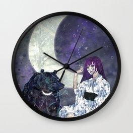 Tsukina Waguma Wall Clock