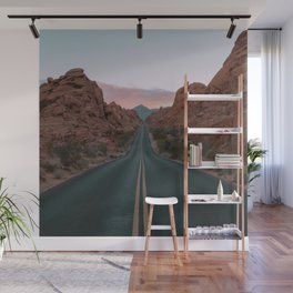 Desert Road Wall Mural