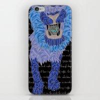leon iPhone & iPod Skins featuring Leon by Katarina Pavlovic