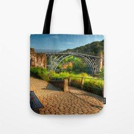 The Iron Bridge 1779 Tote Bag