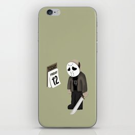 Friday the 12 iPhone Skin