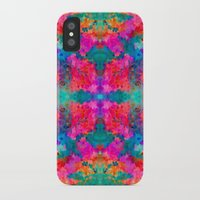 kaleidoscope iPhone & iPod Cases featuring Kaleidoscope by Amy Sia