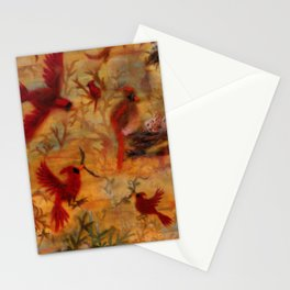The Cardinal Tree Collage Stationery Cards