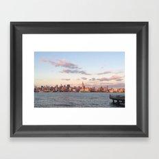 Summer's End, NYC Framed Art Print