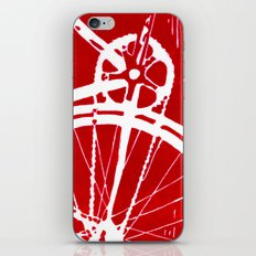 Red Bike iPhone & iPod Skin