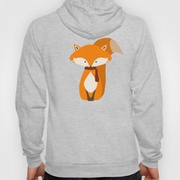 Fox Wintery Holiday Design Hoody