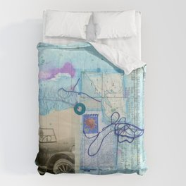 a day by the sea Comforters