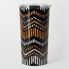 Handpainted Boho, Fall Travel Mug