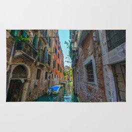 Venice canal Rug