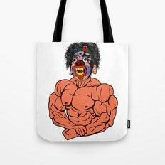 MASK MUSCLE MAN Tote Bag