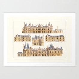 Waddeston Manor Art Print
