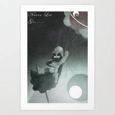 Never Let go Art Print