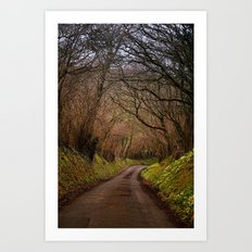 country way Art Print