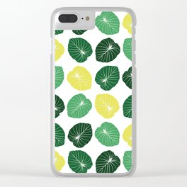 Pattern II Clear iPhone Case