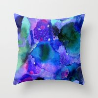 milky way Throw Pillows featuring Milky way way way by Perk & Powe Designs