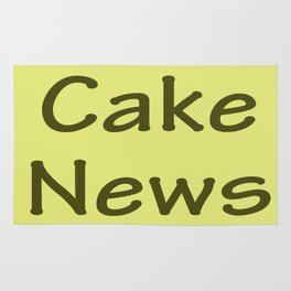 Cake News - Allusion to May in Salzburg Rug