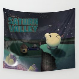 Earthbound - Greetings From Saturn Valley Wall Tapestry