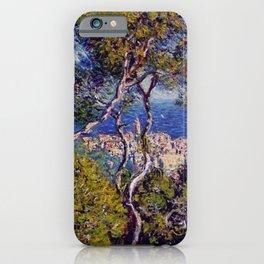 Claude Monet - Bordighera.jpg iPhone Case