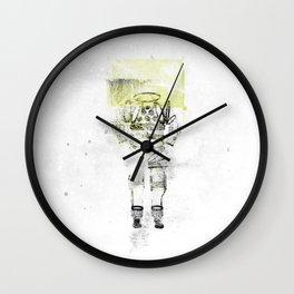 Messager de l'espace Wall Clock