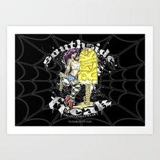 Southside Freak Art Print