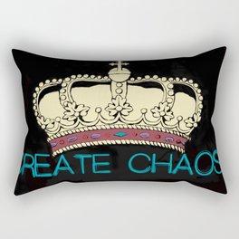 Create Chaos Rectangular Pillow