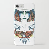 indie iPhone & iPod Cases featuring Indie by chiara costagliola