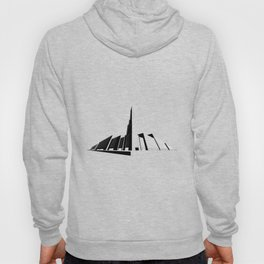 Perspective Line Drawing Hoody