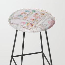 French Patisserie  Bar Stool