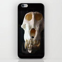 baboon bones iPhone Skin