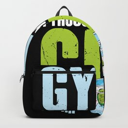 Funny Gym? I Thought You Said Gin! Long Drink Backpack