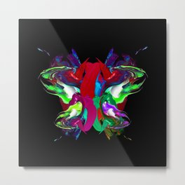 Colorful Butterfly Metal Print