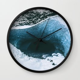 Ice Cave Wall Clock