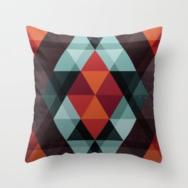 Enceladus Triangulus Throw Pillow