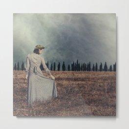 Tuscan lady Metal Print