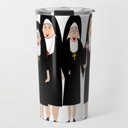 Nuns Wearing Habits Travel Mug