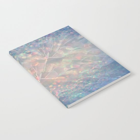 Sparkling Crystal Maze Abstract Notebook