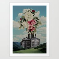The Factory of Love Art Print