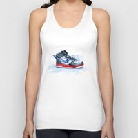 nike Tank Tops featuring Nike dunk by istraille