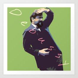 Debussy Art Print