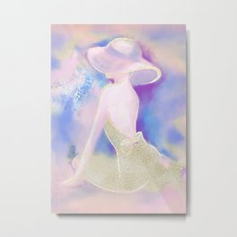 Miss Sunshine  Metal Print
