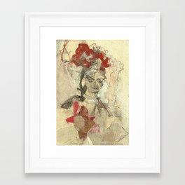 Hommage à Frida Kahlo VIII Framed Art Print