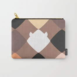 Mocha touch of Geometric Rebelion Carry-All Pouch