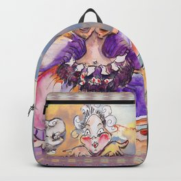 Inner Journey of Jester Buttons Backpack